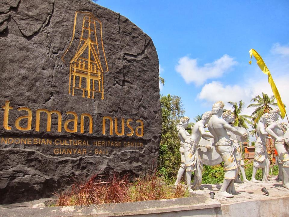 Wisata Taman Nusa Gianyar