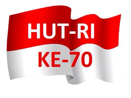 Hut Proklamasi Republik Indonesia ke 70