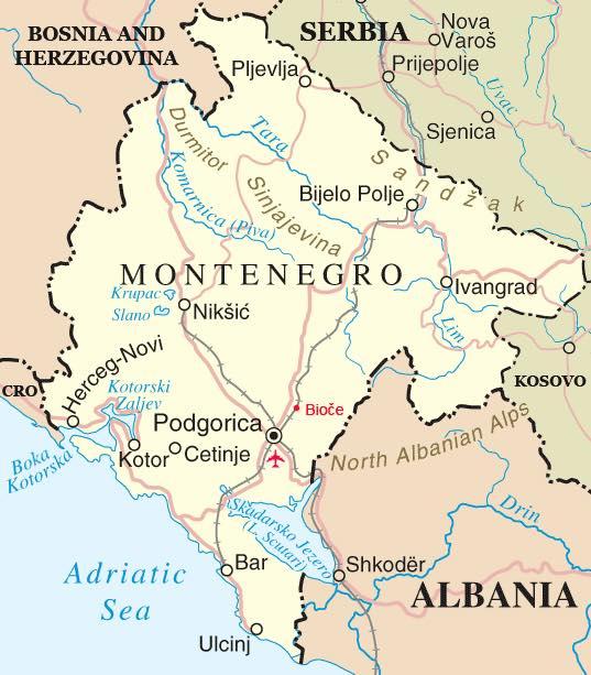 Mengenal Negara Montenegro dan Budayanya