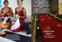 Lowongan Spa Therapist & Spa Supervisor Ashoka Tree Resort - Ubud