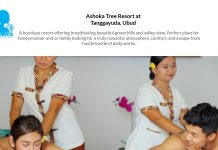 Lowongan / Job Vacancy Spa Therapist & Spa Supervisor Ashoka Tree Resort at Tanggayuda, Ubud