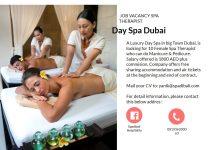 Lowongan / Job Vacancy Spa Therapist Day Spa Dubai