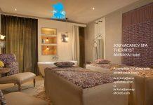 Lowongan / Job Vacancy Spa Therapist Area Kuta - AMNAYA Hotel