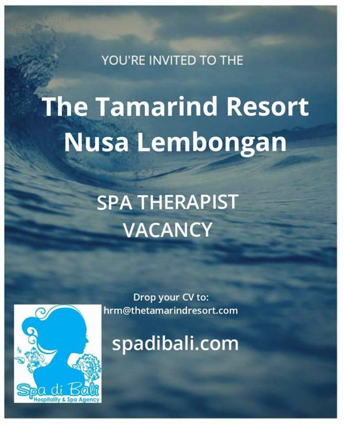 Pesona Keindahan Tepi Pantai Nusa Lembongan - Lowongan Spa Therapist The Tamarind Resort