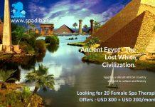 Pesona Peradaban Tua Negara Egypt - Lowongan Spa Manager & Spa Therapist Hotel Kota Sharm El Sheikh
