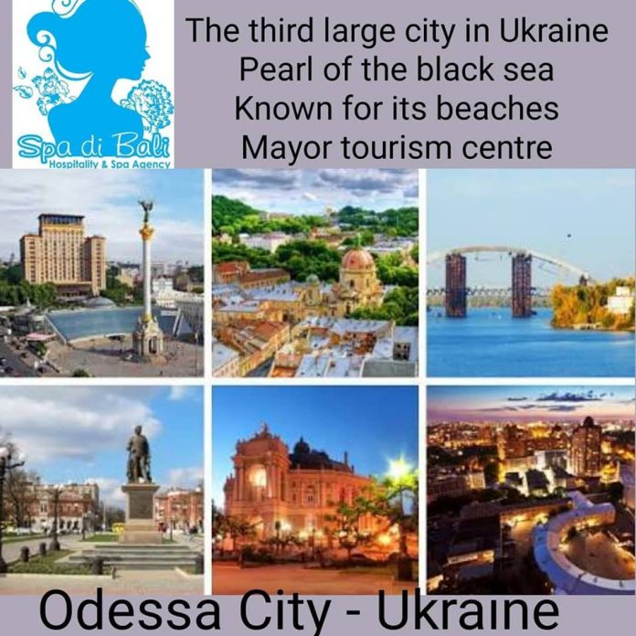 Lowongan Spa Therapist Wanita Kota Terbesar Ketiga Ukraine - Odessa City