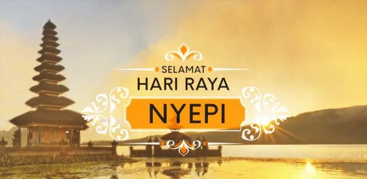 Menyambut Hari Raya Nyepi di Bali - Brata Penyepian di Bali - Amati Geni, Amati Karya, & Amati Lelungan