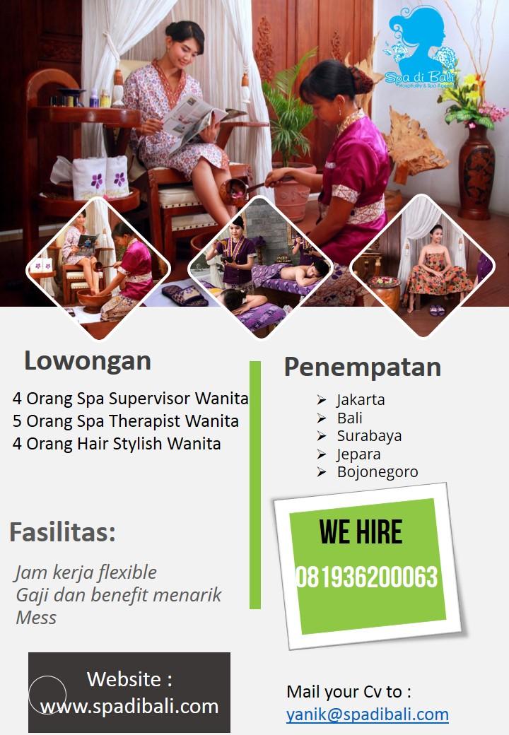 Informasi Seputar Lowongan Spa Tirta Ayu Spa Spa Di Bali